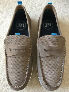 Julius Marlow Men Slip-on Shoes Stone New (Size 9)