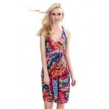 Women's Silk Halter Neck Dresses