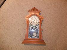Antique Waterbury Irving, Large Shelf/Parlor Clock 1881 KEEPING GOOD TIME