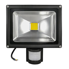 20W 30W LED Flutlicht Strahler Scheinwerfer Fluter Bewegungsmelder IP65