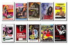 Marteau - horreur film affiche carte postale Ensemble #1