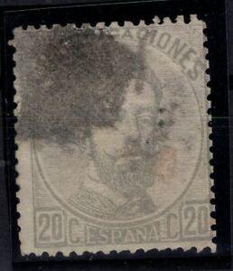 P133252/ SPAIN – KING AMADEO – EDIFIL # 123 USED – CV 120 $