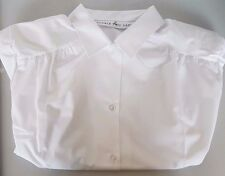 LADIES CONVERTIBLE COLLAR BLOUSE, LONG AND SHORT SLEEVE STYLE 8585/8584 A