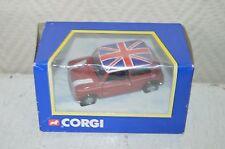 VOITURE MINI  AUSTIN FLAME RED UK  CORGI  DIE-CAST CAR  NEUF BOITE vintage