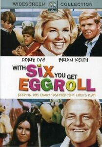 WITH SIX YOU GET EGGROLL New Sealed DVD Doris Day Brian Keith