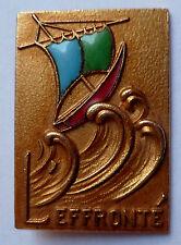 Insigne Marine Escorteur Côtier EFFRONTE Arthus Bertrand ORIGINAL France