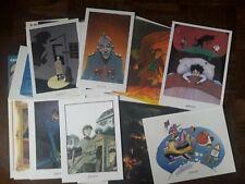 Ex-libris lot de 27 par fantasmagories, adamov, de moor, pétillon
