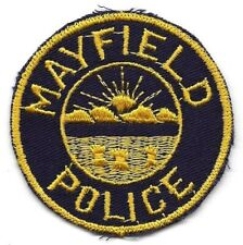 Mayfield OHIO OH Police patch OLD