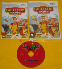 FAST FOOD PANIC Nintendo Wii Versione Ufficiale Italiana ♦♦♦♦ COMPLETO