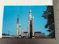 Vintage Postcard Alabama Space and Rocket Center Huntsville