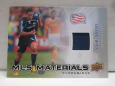 2012 Upper Deck MLS Throwback Materials #CD Clint Dempsey A Jersey - NM-MT