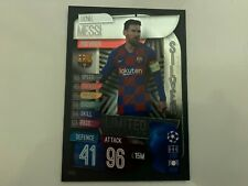 Match Attax 2019/20 Lionel Messi Silver Limited Edition Champions League card