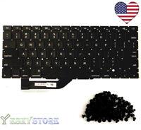 """New 15"""" MacBook Pro Retina A1398 US Black Keyboard 2013 2014 Model w (Screws)"""
