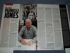 "2012 Parnelli Jones Q&A Article ""Take 5 with Panel Jones"""