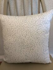 """16"""" cushion cover made in Laura Ashley  """" Little Vines """"  Duck Egg fabric"""