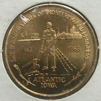 1968 Atlantic Iowa IA 50 Cents Trade Token