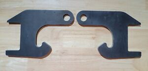 Boss Snow Plow Mount DIY Hooks, PAIR