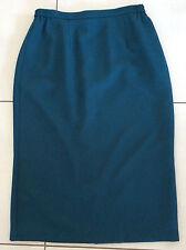 NONI B Skirt Dark Green Lined Size 14 Made In Australia