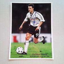 CHRISTIAN WÖRNS (DFB 92-05) signed Photo 20x27