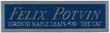 FELIX POTVIN LEAFS NAMEPLATE AUTOGRAPHED SIGNED HOCKEY STICK-JERSEY-PUCK-PHOTO