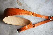 ROBERU Leather Strap for Camera  Color/Camel  Order-made at  Japan Brand New