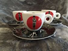 2009 Illy Art Collection Espresso Cup Pedro Almodovar Bad Education 1 Cup Saucer