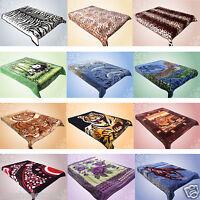 NEW LUXURY SUPER SOFT BLANKET FAUX FUR SOFA BED RUNNER CUDDLY MINK FLEECE THROW