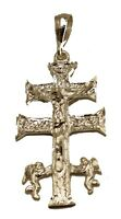 Cruz de Caravaca - Caravaca Cross .925 Sterling Silver Pendant High Polish