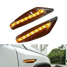 2pcs Auto nachtlichter blinker seite Lampe 2 Watt 12 V gelb 152mm x 43mm x 11mm