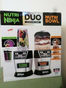 Nutri Ninja 72-Oz. Blender Duo with Auto IQ -- Brand New