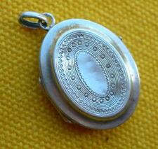 PENDENTIF RELIQUAIRE EN ARGENT ANTIQUE RELIQUARY LOCKET PENDANT silver sterling
