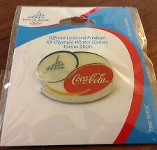 Coca-Cola Logo Torino 2006 Olympic Pin