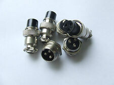 2,3,4,5,6,7,8 &9 Pins Chassis Sockets Plugs  Microphone Mic Plug GX16-