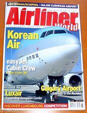 Airliner World 2005 June Korean Air,Flybaboo,Luxair