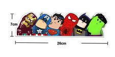 Superhero Reflective Wry Heads Avengers Decorative Art Vinyl Cartoon Car Sticker