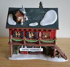 "Dept 56 North Pole Series ""Santa's Woodworks"" 5628-6 With Box/Lights, MIB"
