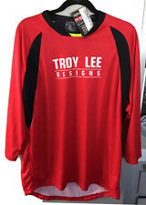 Troy Lee Designs Ruckus MTB Jersey Speckled Red/Black Adult Size XL NWT