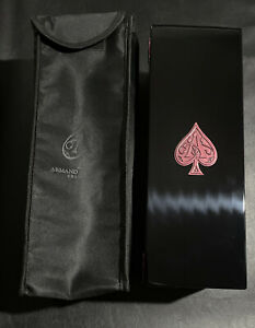 Armand De Brignac Champagne Black And Pink Box With Sleeve