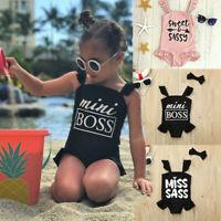 Kids Infant Toddlers Baby Girls Bikini Swimwear Swimsuit Beachwear Bathing Suit