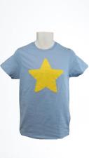 New Steven Universe Licensed Mens Sizes S-M-L-XL Blue Yellow Star T-Shirt