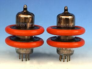 4 DuoDAMP TUBE DAMPERS 6BA6/5749/6AU6/6GK5/6FQ5/EL95/6X4 MARANTZ McINTOSH YAQIN