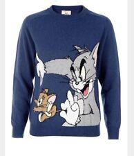 New Paul & Joe Sister Warner Brothers Collab Tom & Jerry  Sweater Sz 2 Medium