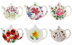 Melamine Teabag Tidy Kitchen Utensil Plastic Tea Bag Holder New - Poppy Rose Bee