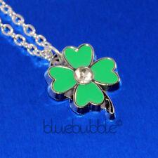 Alloy Flowers Plants Enamel Costume Necklaces & Pendants