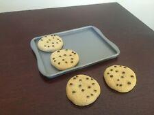 "American Girl Gourmet Kitchen 4 cookies baking sheet pan 18"" dolls bakery NEW"