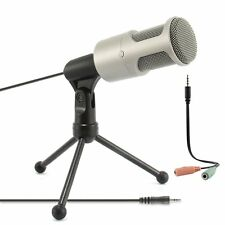 Pro Dynamic Condenser Microphone Mic Audio Studio Sound Recording + Shock Mount