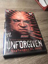 Wwe - Unforgiven 2003 (Dvd, 2003)
