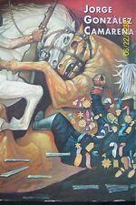 JORGE GONZALEZ CAMARENA. MEXICAN ART BOOK.