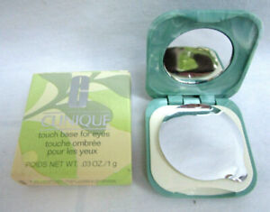 Clinique Touch Base for Eyes in #10 CANVAS Full Size  0.03oz/1g