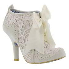 Suede Upper Block Textured Heels for Women